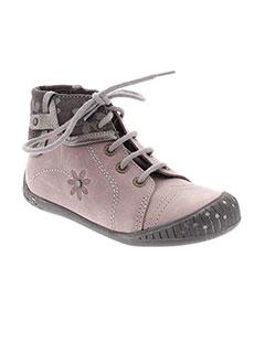 BABYBOTTE Chaussure VIOLET Bottillon FILLE (photo)