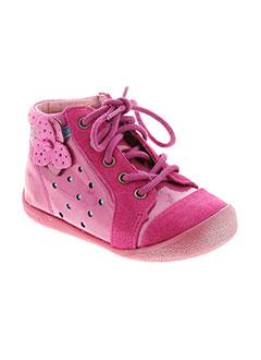 BABYBOTTE Chaussure ROSE Bottillon FILLE (photo)