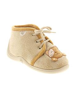 BABYBOTTE Chaussure BEIGE Pantoufle GARCON (photo)