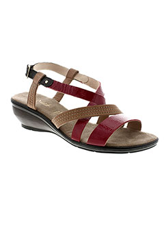 SWEET Chaussure ROUGE Sandales/Nu pied FEMME (photo)