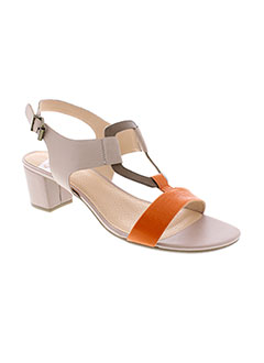 SWEET Chaussure ORANGE Sandales/Nu pied FEMME (photo)