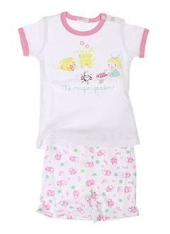 BENETTON Lingerie ROSE Pyjama FILLE (photo)