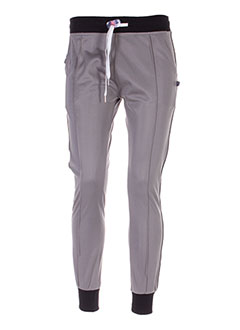 SWEET PANTS Pantalon GRIS Jogging FEMME (photo)