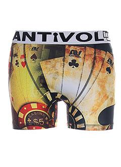 ANTIVOL Lingerie JAUNE Shortys/Boxer HOMME (photo)