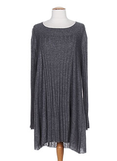 OPEN END Pull GRIS Pull-tunique FEMME (photo)