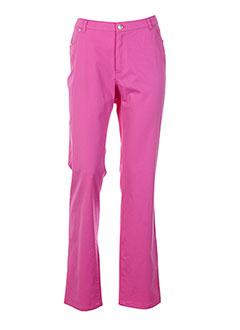 EUGEN KLEIN Pantalon ROSE Pantalon décontracté FEMME (photo)