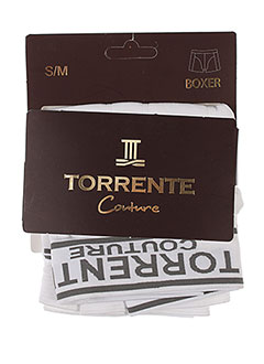 TORRENTE Lingerie BLANC Shortys/Boxer HOMME (photo)