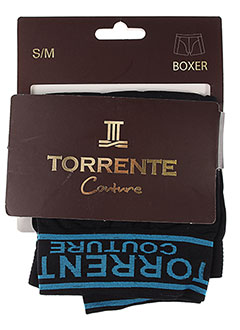 TORRENTE Lingerie NOIR Shortys/Boxer HOMME (photo)