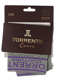 TORRENTE Lingerie GRIS Shortys/Boxer HOMME (photo)