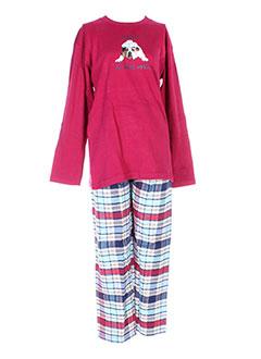 ARTHUR Lingerie ROUGE Pyjama GARCON (photo)