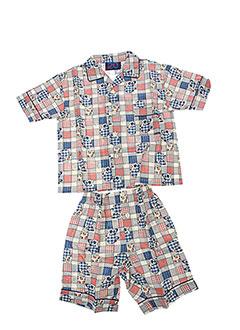 MINUIT 20 Lingerie BLEU Pyjama GARCON (photo)