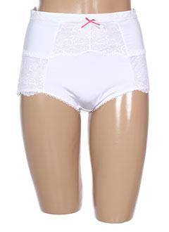 MARIEMEIILI Lingerie BLANC Slips/Culotte FEMME (photo)